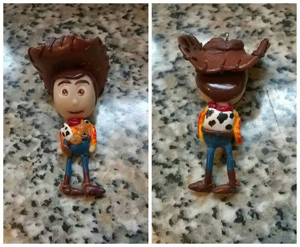 Woody toy story fimo polymer clay