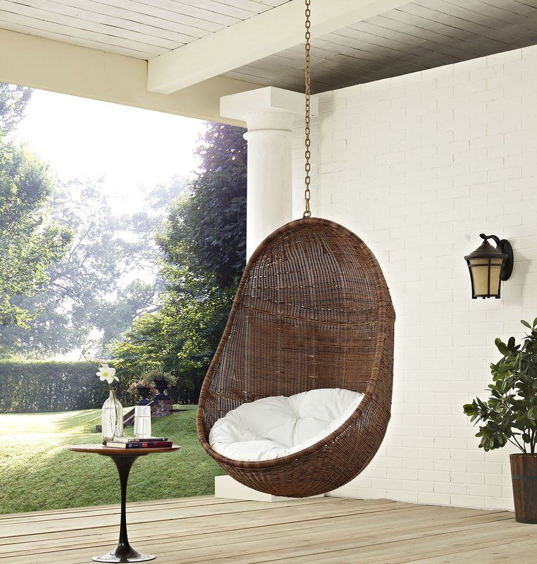 Anner Tear Drop Swing Chair with Stand Swinging chair
