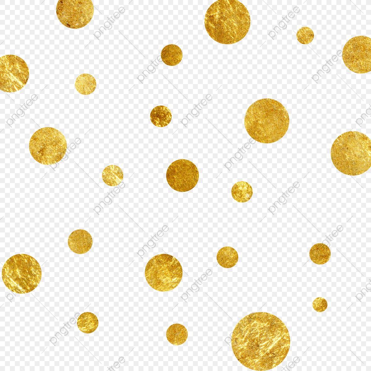 Floating Golden Dots Golden Gold Foil Material Golden Dot Png Transparent Clipart Image And Psd File For Free Download Geometric Background Background Banner Floating Decorations