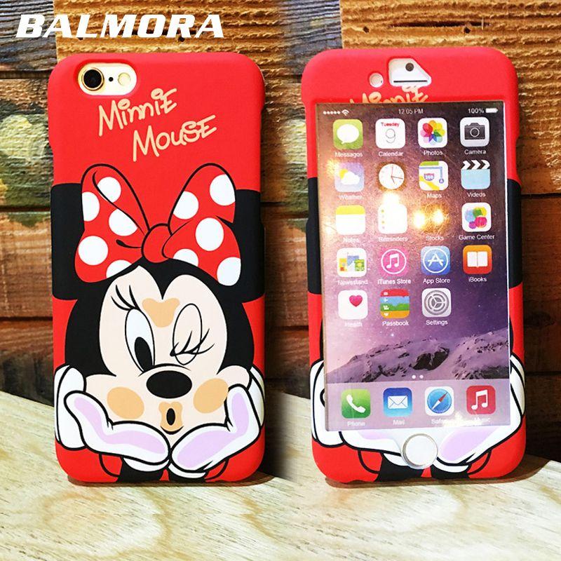 Balmora Telefono Movil Bolsa Caso Para Iphone 6 6 S Mas Minnie