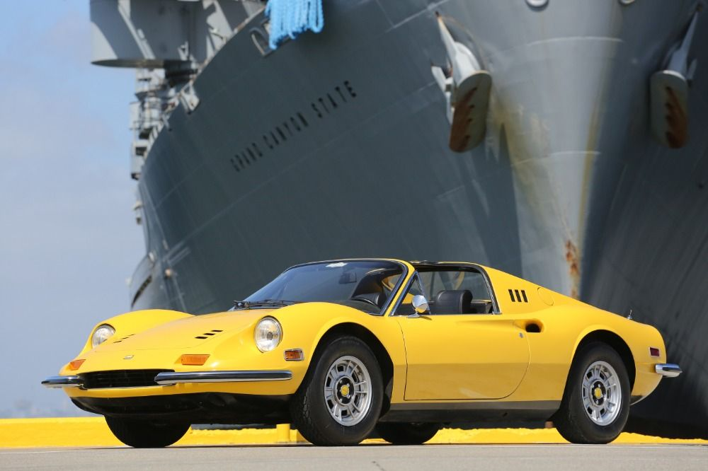 This 1973 Ferrari 246GTS Dino is a fantastic original