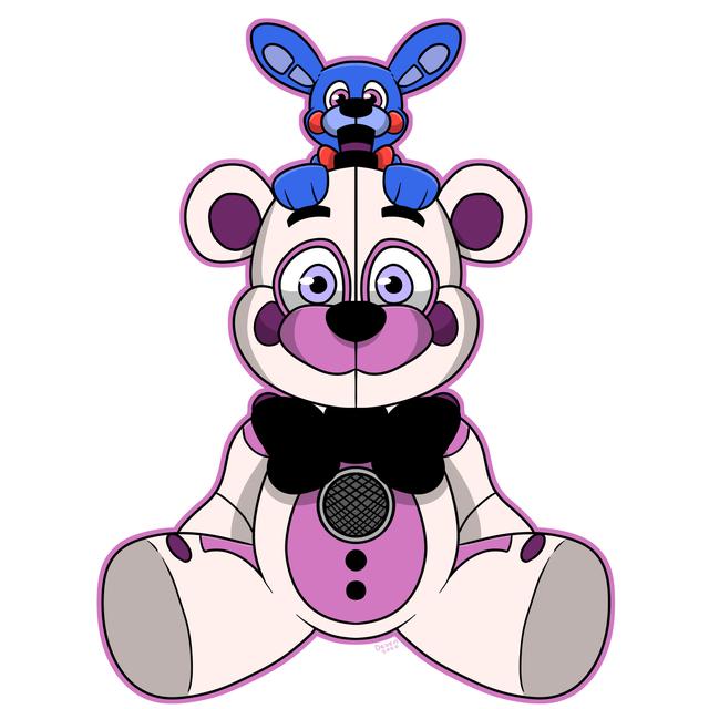 I Fixed Funko S Funtime Freddy Plush Design Fivenightsatfreddys Freddy Plush Fnaf Drawings Interactive Artwork