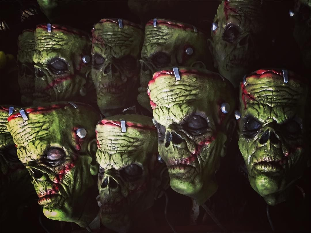 Frank'n Zombie mask Green version #ghoulishproductions #halloween ...