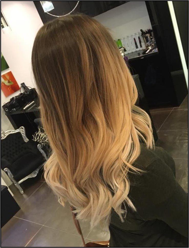 Braun blond verlauf