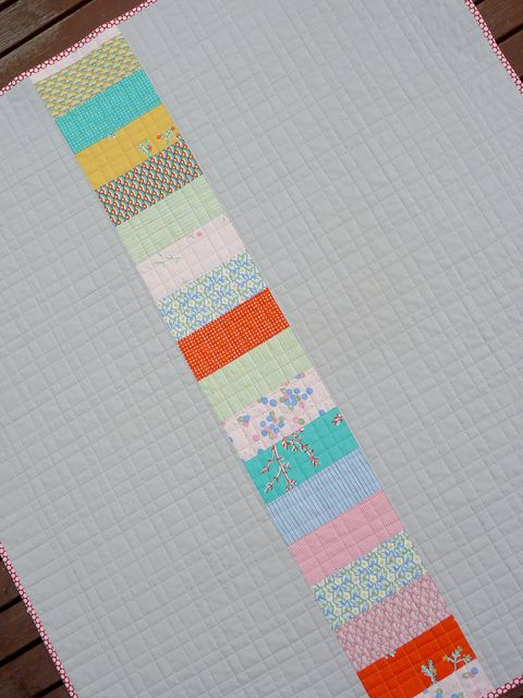 quilt back -- Love the quilting, too!