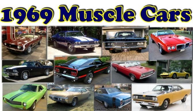 Love Muscle Cars Heres All Of The Muscle Cars Of This Might