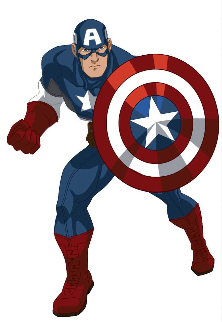 captain america cartoon - Google Search