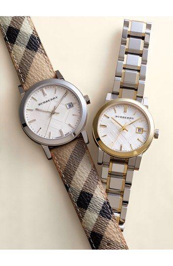 Stamped Bracelet Watch 34mm