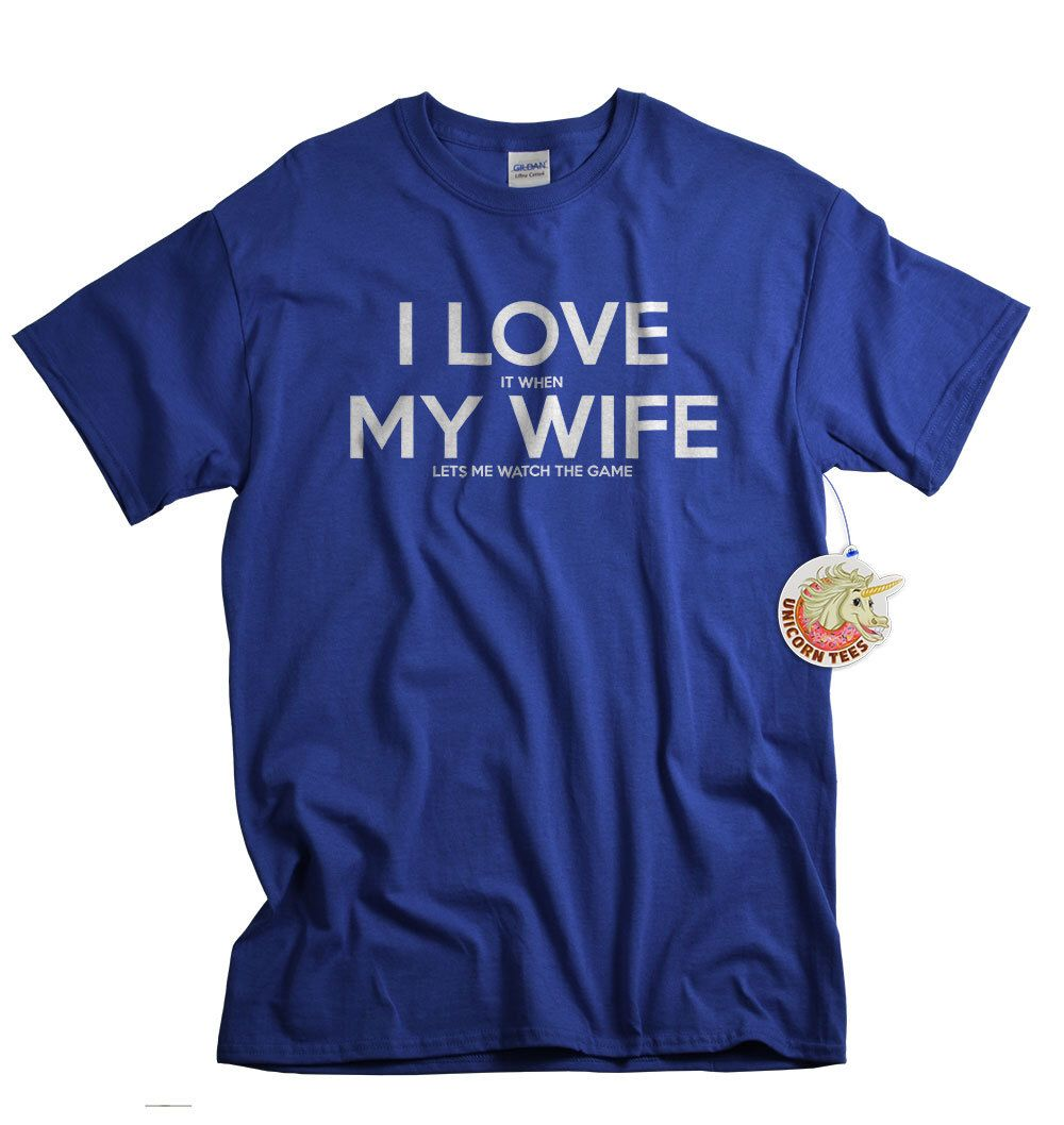 christmas gifts for husband i love it when my wife tshirts