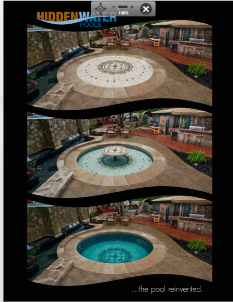The 25 best hidden water pool ideas on pinterest for Paddling pool heater