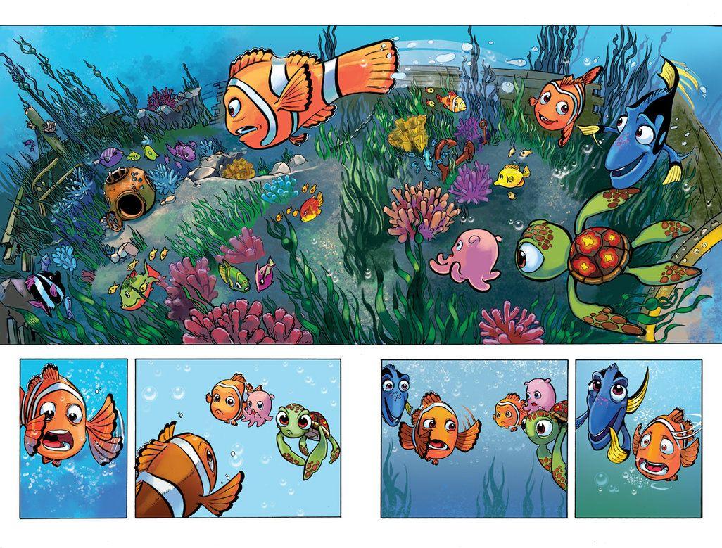 Finding Nemo Comic By Lazesummerstone