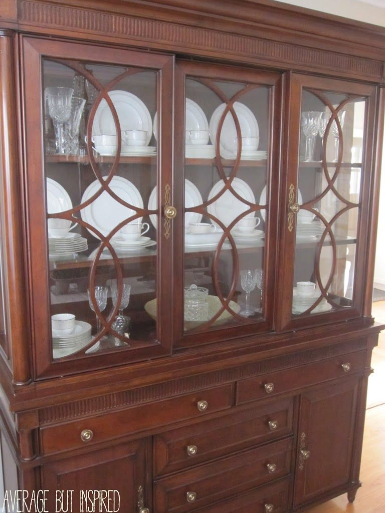 Tips on How to Arrange a China Cabinet  Kitchen and