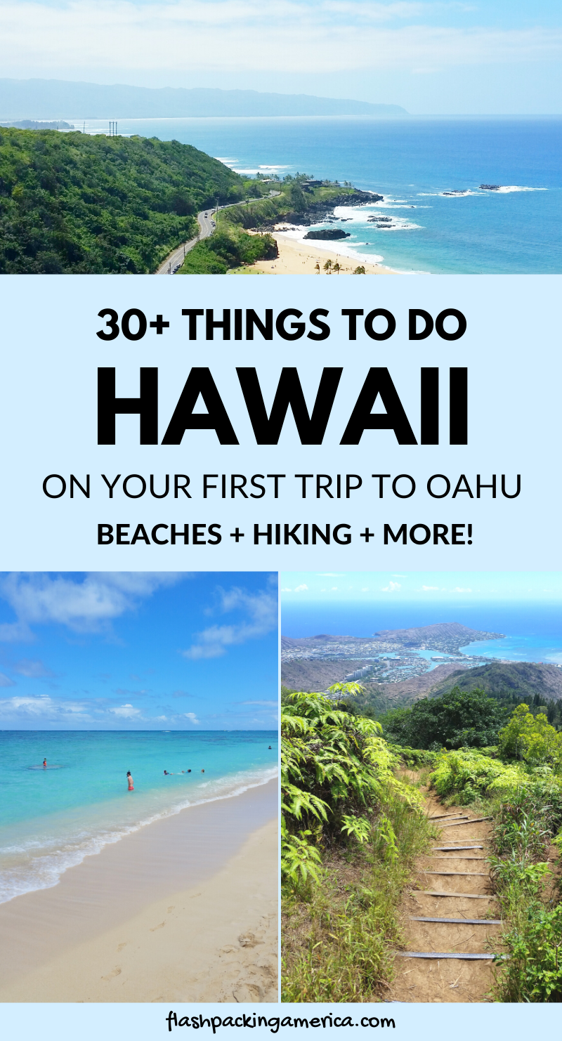 30+ things to do in Hawaii as part of Oahu beach v