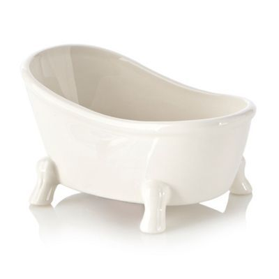 Ceramic Bathtub Soap Dish 4 00 At Int Debenhams Com Ceramic