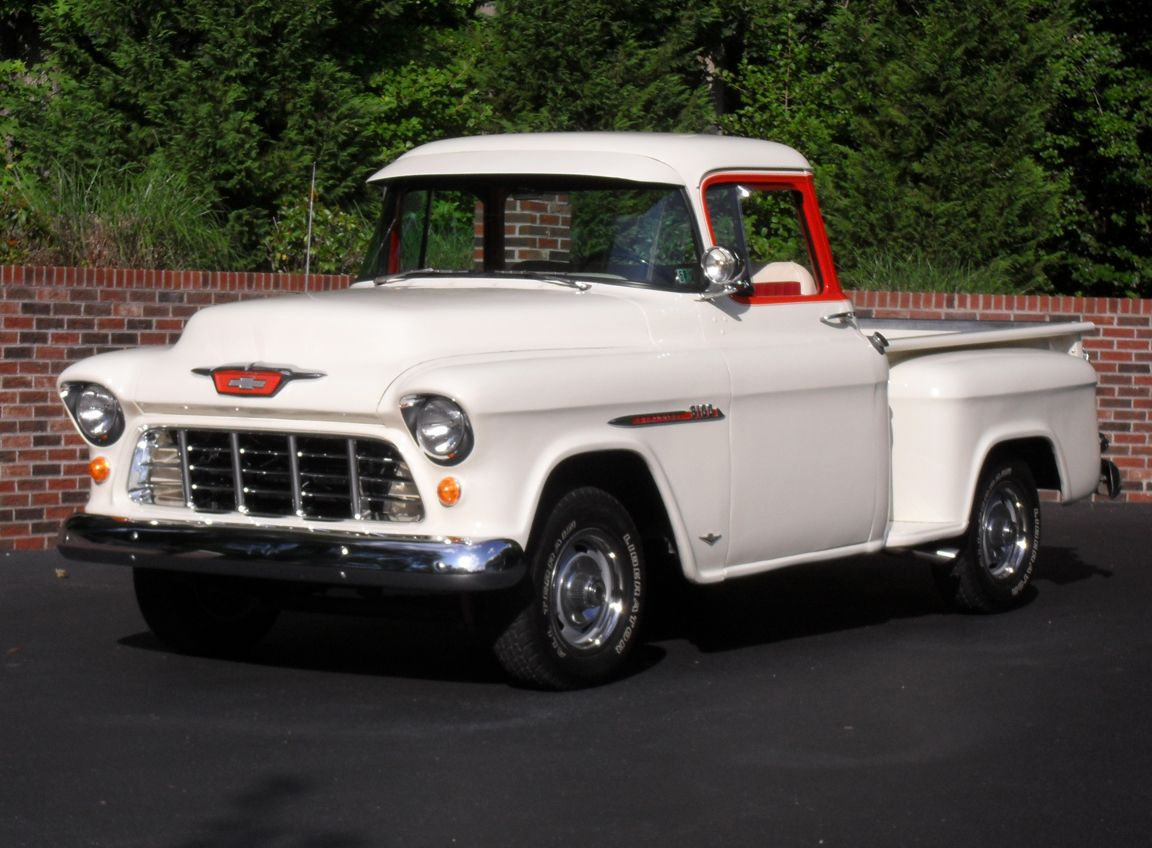 older chevy trucks | description rebuilt 283 engine with mild cam ...
