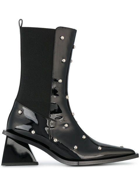 48ee1dd98fa70 MARQUES  ALMEIDA studded pointed toe boots.  marquesalmeida  shoes ...