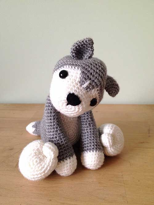 Buy Nanook the husky amigurumi pattern - AmigurumiPatterns.net ...