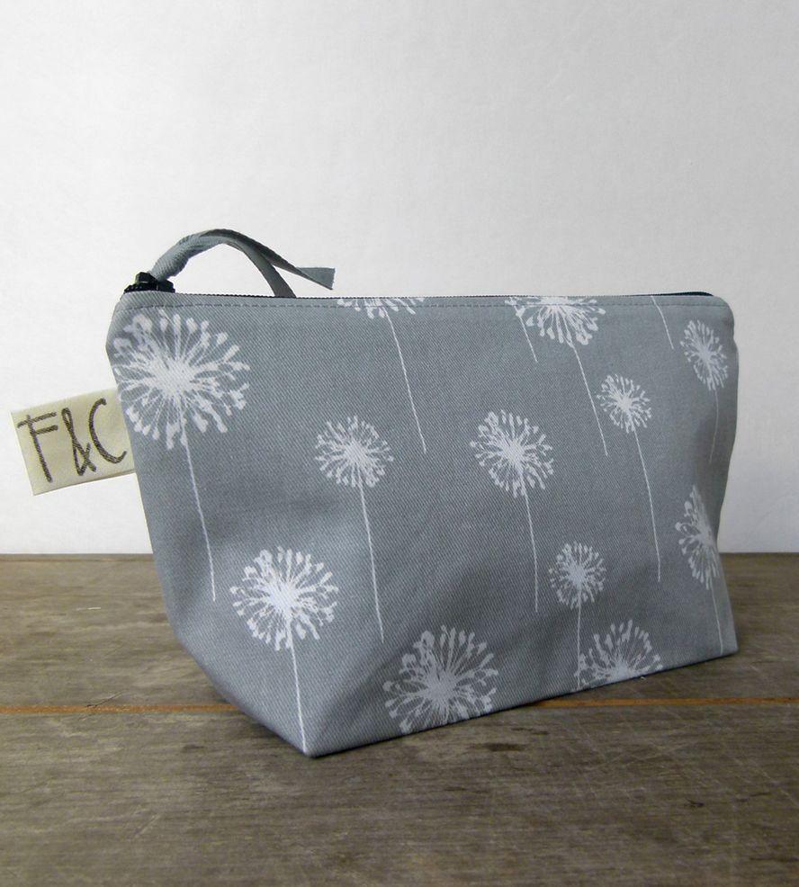Dandelion Cosmetic Bag Bags, 80s womens fashion