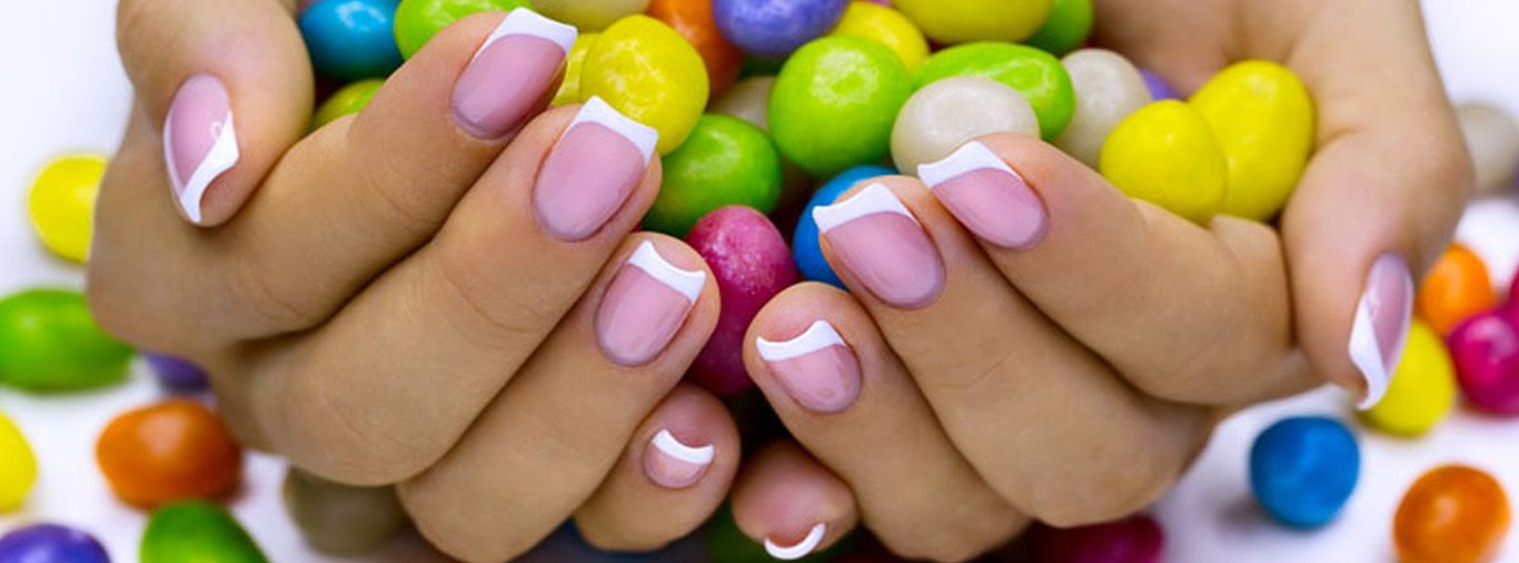 Pin By Hamburg Pavilion On Labor Day Fun Manicure French Nails Manicure And Pedicure
