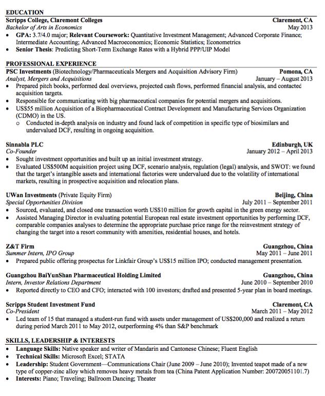 Sample Analyst Resume - http://exampleresumecv.org/sample-analyst ...