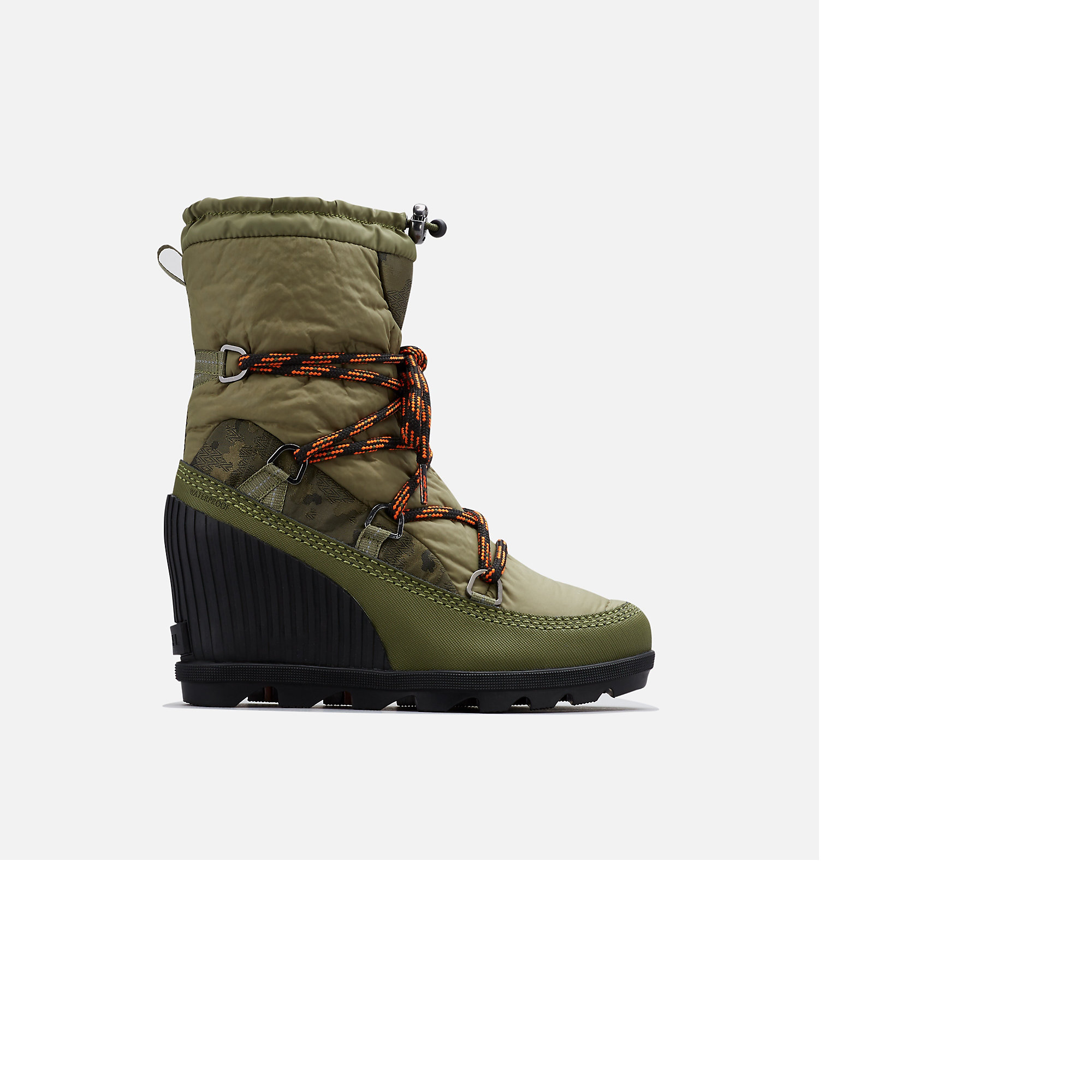Wedge Boot | Boots, Wedges, Hiking boots