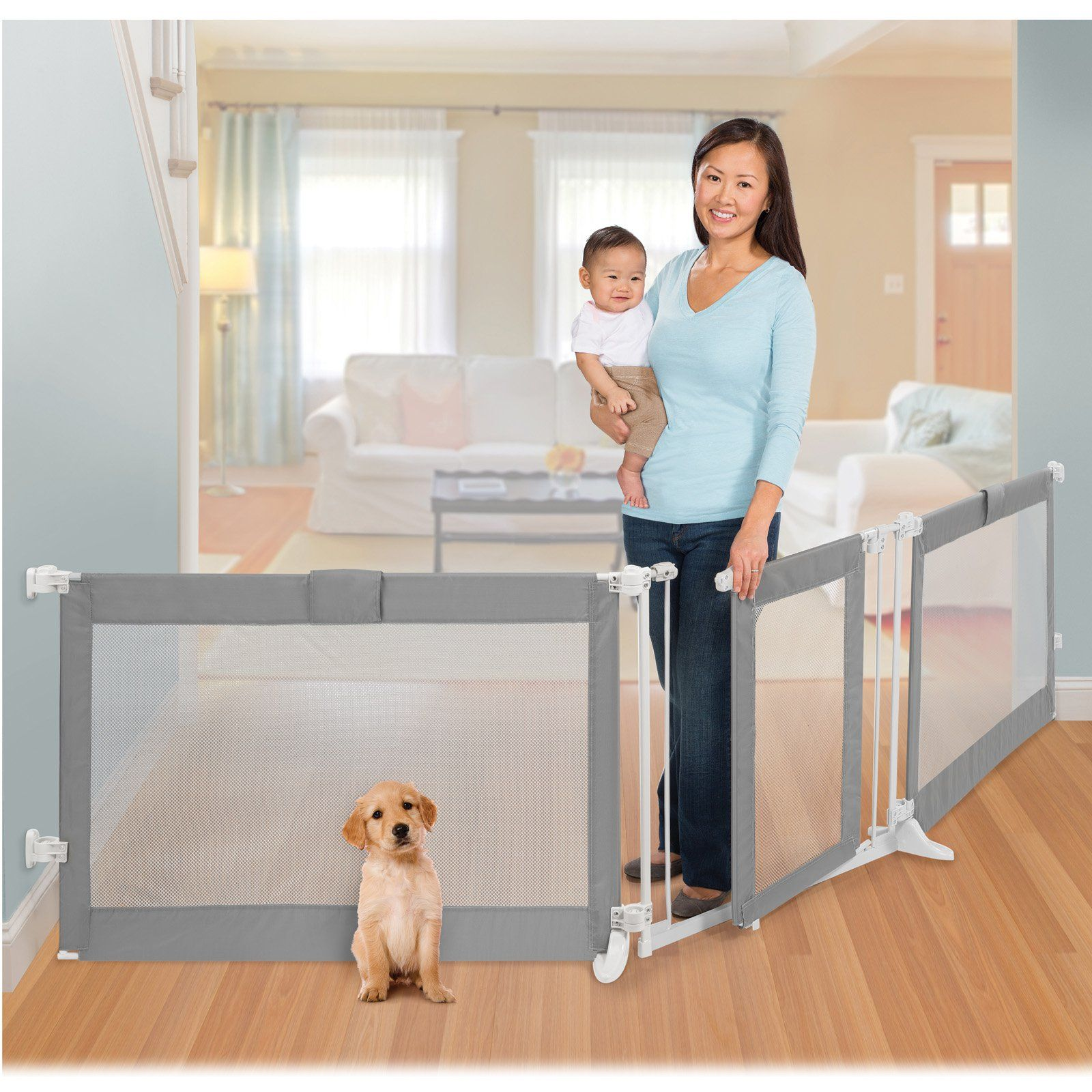 Free 2 Day Shipping Buy Summer Infant Extra Wide Baby Gate Playard 65 86 Or 96 141 At Walmart Com