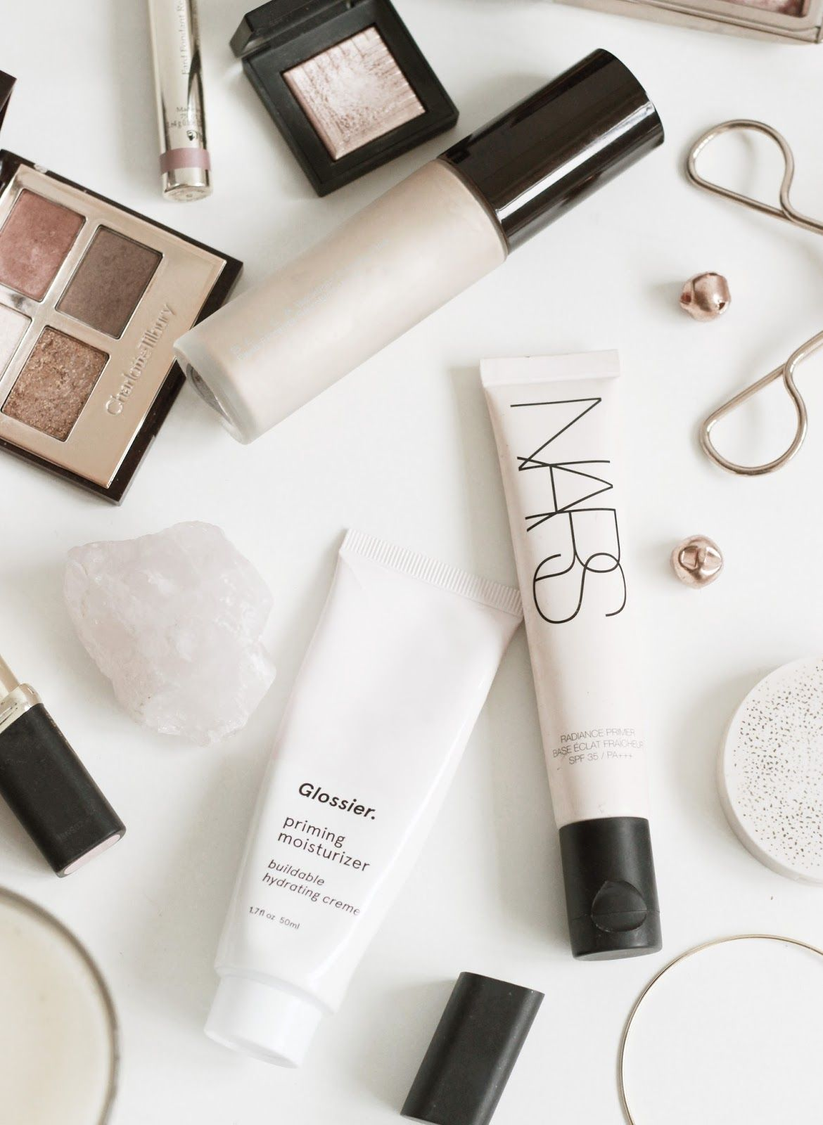 Three Luminous Primers Top makeup products, Priming