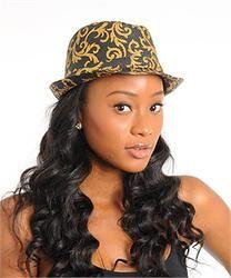 Fashionable Paisley Fedora Hat