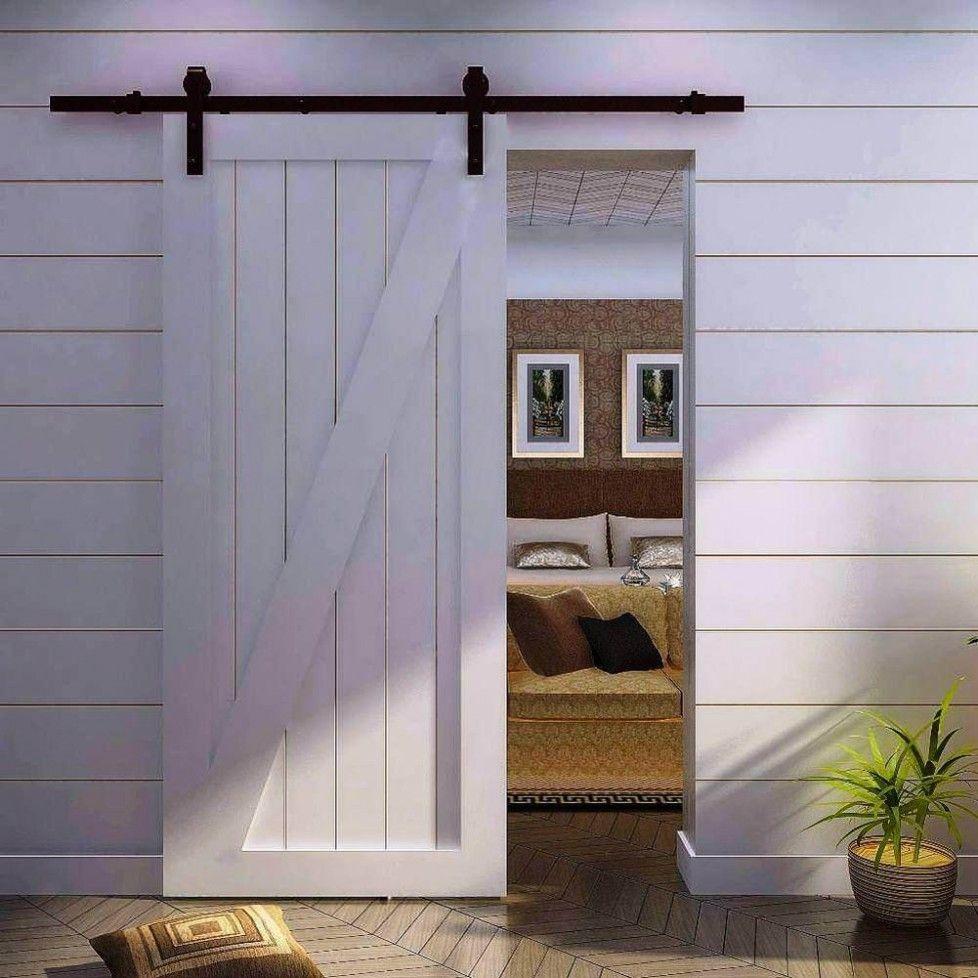 Download Barn Doors Interior Sliding Wood Panel French Interior Doors For  Small Barn House Bedroom Design