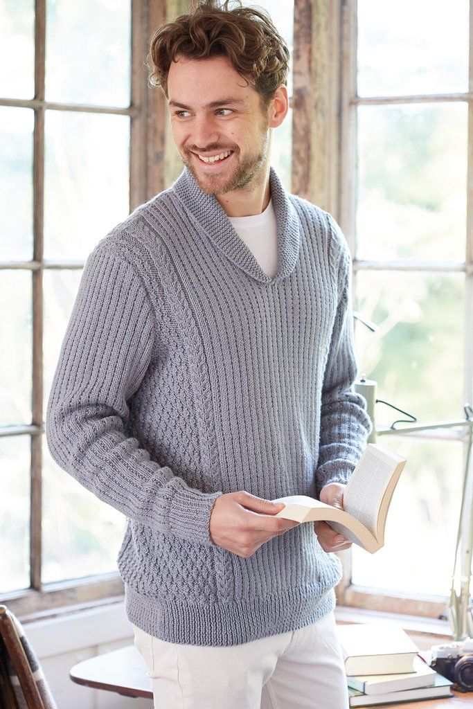 Mens Vintage Jumper Knitting Pattern | Pinterest