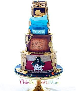 Birthday Cakes In Sydney First 1st Cake Novelty Dinosaur Pirate Adult Mens Champagne Bottle