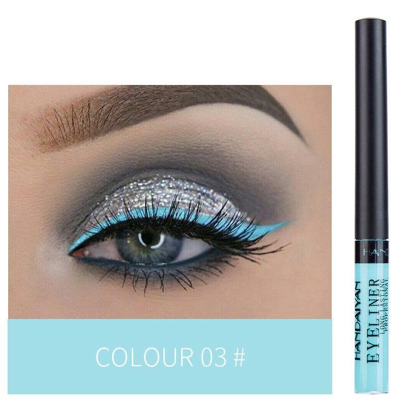 Delineador de ojos de color líquido resistente al agua – 03  – Maquillaje