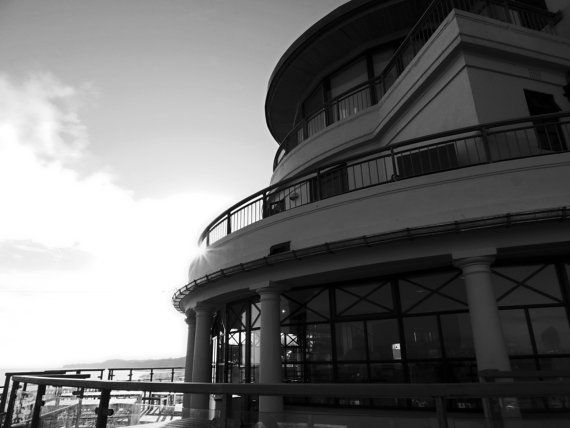 Penarth Pavilion silhouette photo by SerdinyaArt on Etsy, €10.00