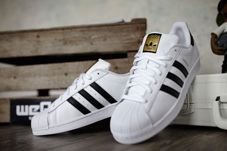 Adidas Superstar J W Schuhe Weiss Schwarz 1115 Zoom 3 Jpg 1500 1000 Adidas Superstar Zapato Tenis Zapatos