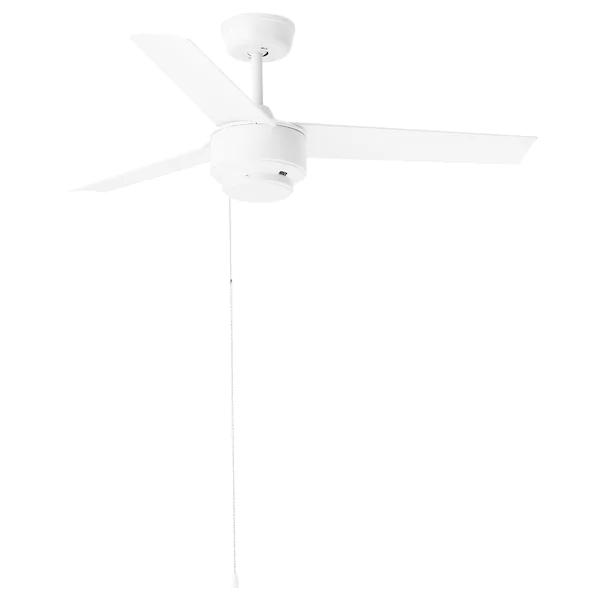 Molnighet 3 Blade Ceiling Fan Plastic White Ikea Ceiling Fan