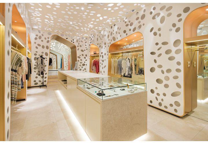 Oscar & Wild, Fashion Boutique in Camberwell, Melbourne Australia. Interior by Matt Gibson Architecture + Design. Photo: Shannon McGrath