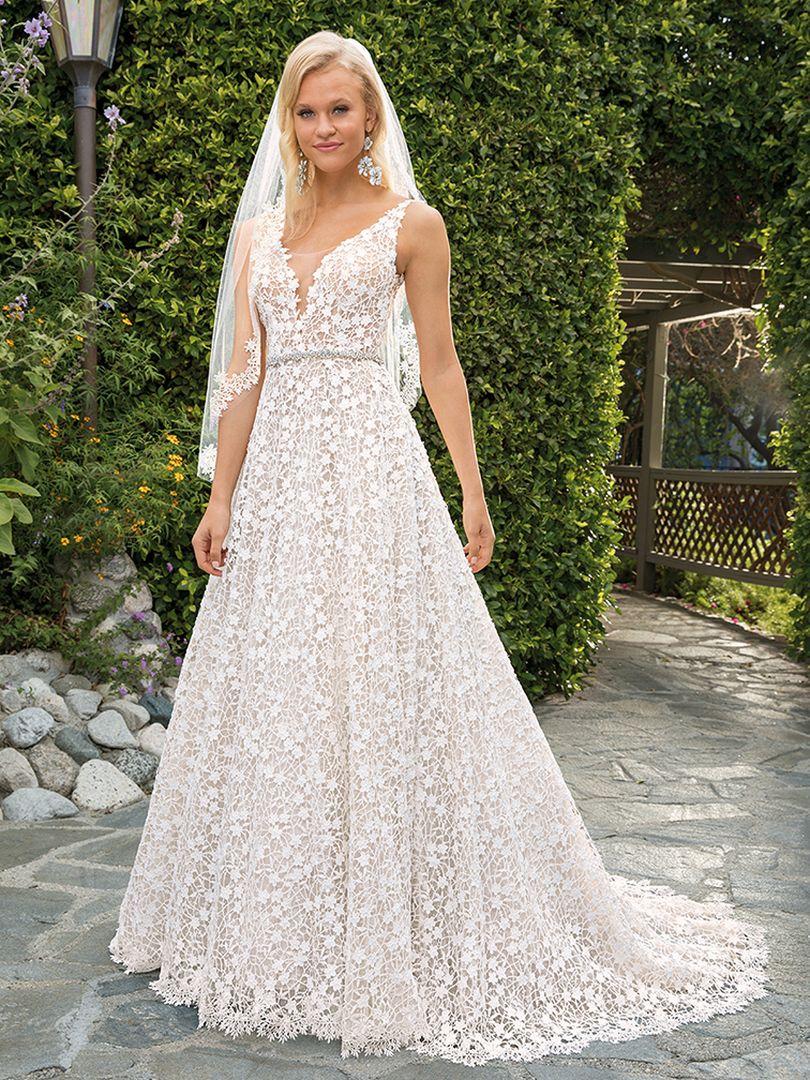 Style 2354 Liliana Casablanca Bridal Lace weddings, A