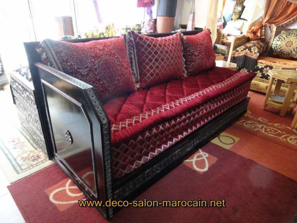 Salon-marocain-rouge-élégant-2015.jpg (960×720) | majlas | Pinterest