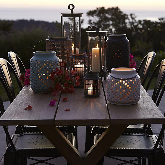 K Grey And Ivory Lanterns Arizona Desert Dwelling