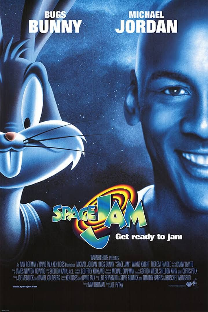 Space Jam is a 1996 American liveaction/animated sports