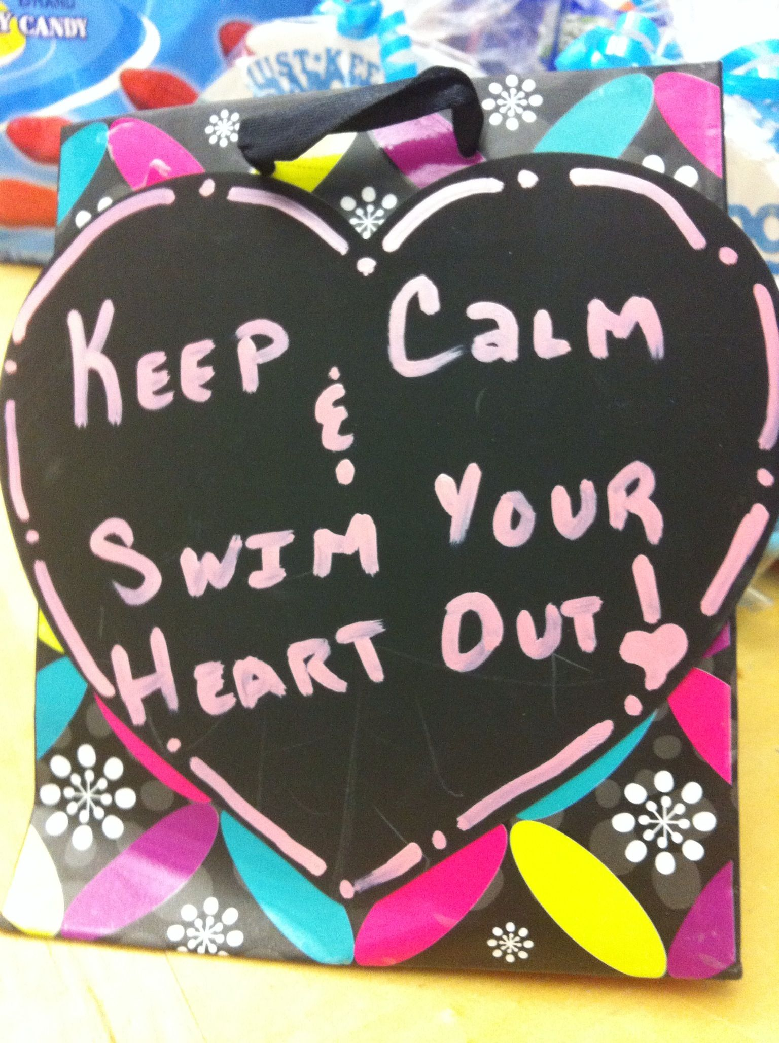 Gift Bag Ideas for Swim Team