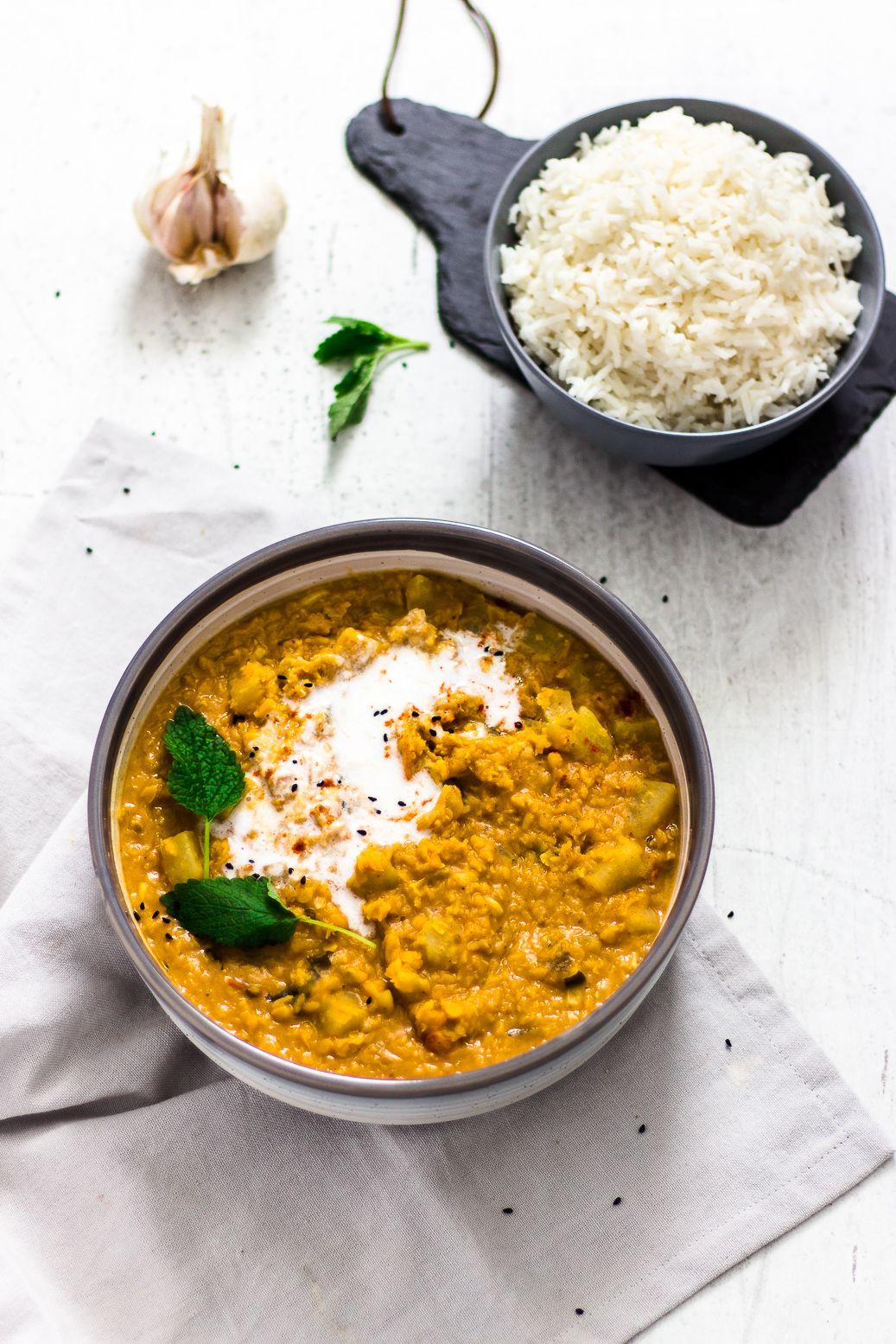 Kohlrabi Dhal   Veggie Jam