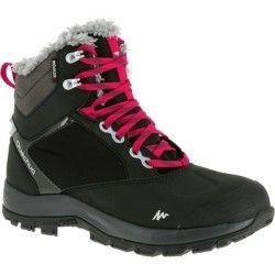 x mid warm femme noir de Chaussures SH520 neige randonnée N8nOmwv0