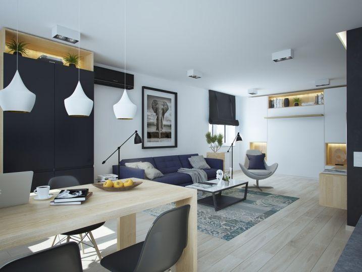 Amenager Et Decorer Un Appartement De Moins De 50m2 Deco Appartement Idee Deco Appartement Petite Salle A Manger