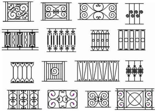 10 Contoh Motif Pagar Besi With Images Wrought Iron Fence