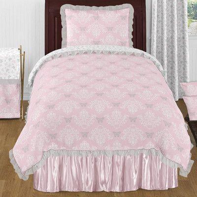 Sweet Jojo Designs Alexa 4 Piece Twin Comforter Set