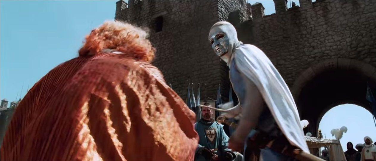 Uma das melhores cenas do filme Kingdom of Heaven.