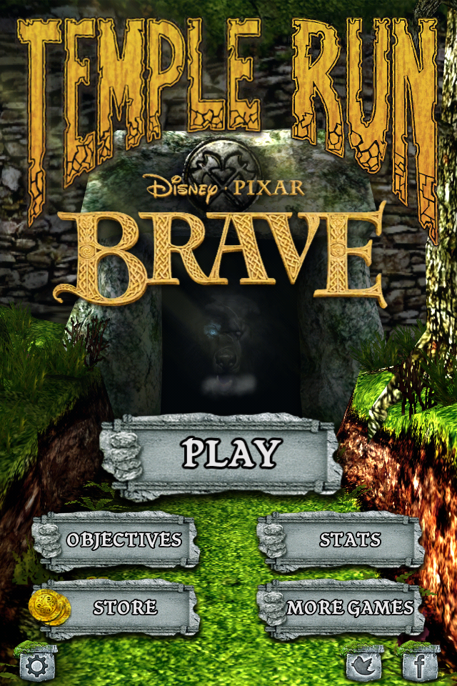 Pin by Hanna Xu on Background Brave, Run disney, Simple game