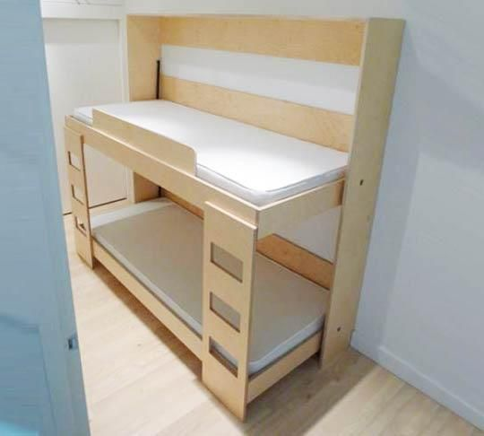 DIY Murphy Bunk Bed Plans  Ask Penny What She Thinks About Something Like  This For