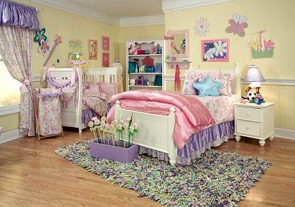 shared kids room design, toddler and baby room decor, kid art